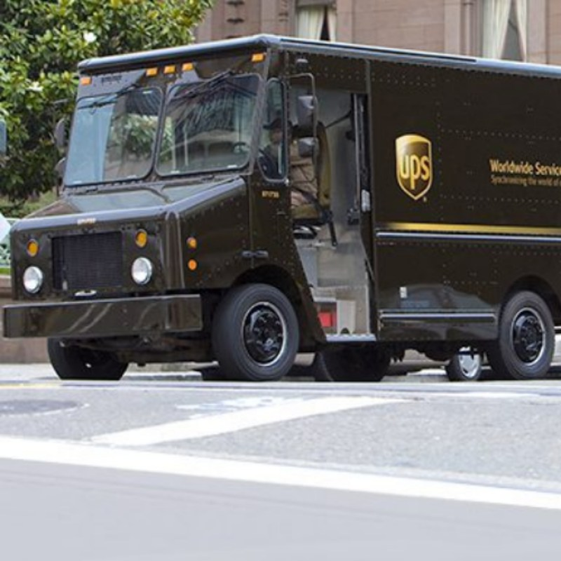 UPS Shipping vehicle